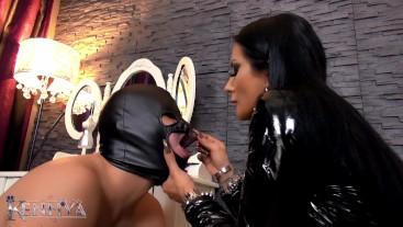 Mistress Kennya: Humiliated Human Ashtray