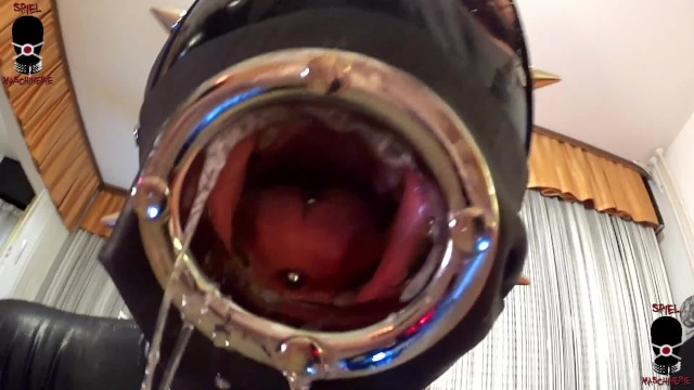 Cock ring orgasms Latex cock for tunnel gagged latex slut slave - intro