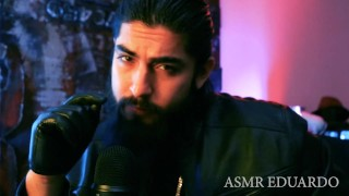 ASMR - Leather Glove Domination Master Role Play Ft. Leather Sounds