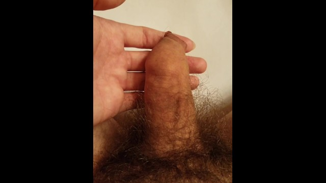 Napoleans small penis - Small soft penis becomes a big hard 6.5 inch cock