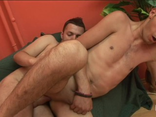 Creampie after hard fuck with chubby friend...