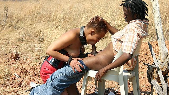 Lesson milf savannah African fetish fuck lesson at the savannah