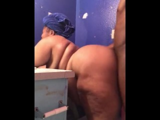 BIGG STALLION GETS CAUGHT  FRESH OUT THE SHOWER