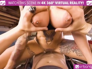 VR BANGERS MILF Anna Bell Peaks Fucked Hard by Her Tattooed Costumer