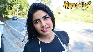 Carne del Mercado-娇小拉丁青少年粗糙异族性-MamacitaZ