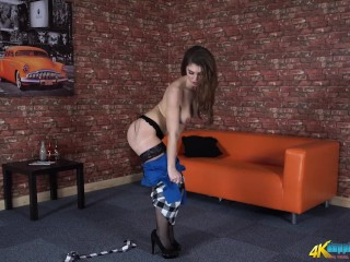 Your Sexy Secretary Rewards You For All Your Hard Work