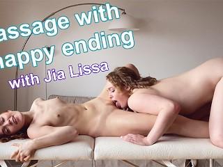Massage wth a happy e Ja Lssa Sarah Calanthe Sarah Calanthe