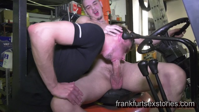 Hot gay bestfriend sex stories Horny customer sucks off monster cock and eats cum in a garage