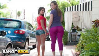 BANGBROS - Jynx Maze and Briella Bounce Bring The Heat On Ass Parade!