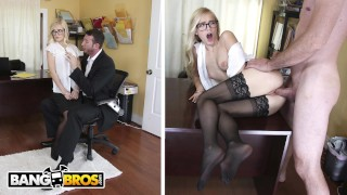 BANGBROS – Sexy Office Secretary Alex Grey Pays For Her Mistake