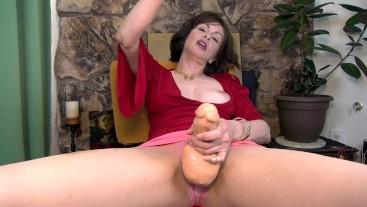 Cumdrinking Cocksucking Dirty Boy - Mrs Mischief femdom strapon pov milf