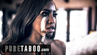 Screen Capture of Video Titled: PURE TABOO Model Demi Sutra's Sex with Photographer