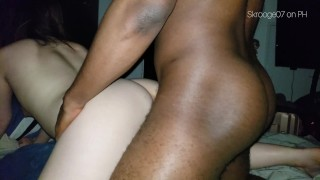loud chinese gets banged by amazing black dick bmaf (4k)