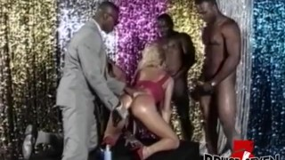 BRUCE SEVEN – Heather St Clair Takes On 4 Big Black Cocks