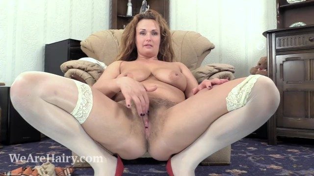 Eric brown naked Cecelia hart strips naked on her brown chair