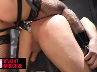 Devant Hardcore Dom Aden Star pegs and spanks beta Aiden Starr