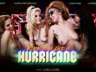 ORE Rval Bands Orgy ed Fster vs MegaLez Charlotte Stokely, Karla Kush, Katrina Jade, Lena Paul