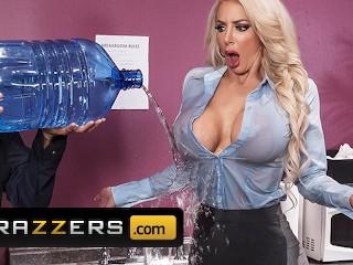Brazzers – Big Tit office slut Nicolette Shea gets pounded