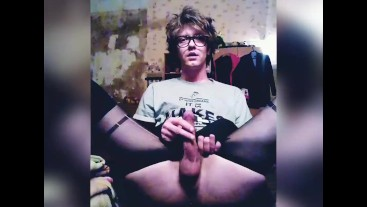 Cute Femboy Self Fapping Trap