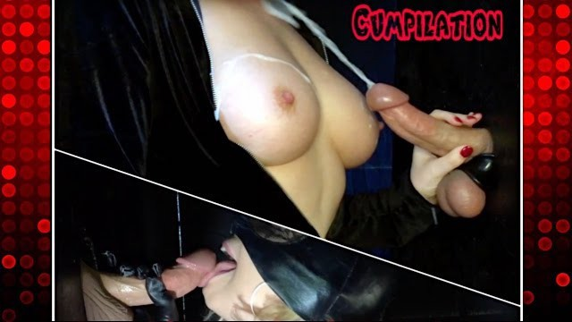 Milk drinking blowjob - Big milked cumshots kittybegood compilation 1