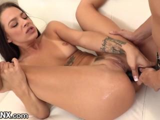 LesbianX Evelin Stone's Rough Lesbian Anal main image