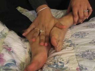 Olivia R. Foot Worship Humiliation JOI