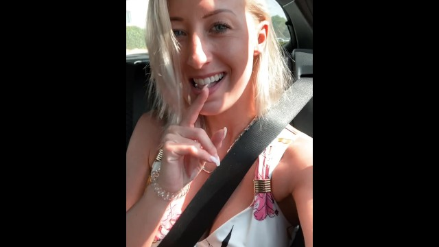 Blonde masturbate in taxi Omg secretly fingered in the taxi to orgasm