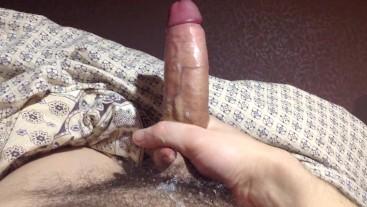 Masturbating and cumming until dad sees.