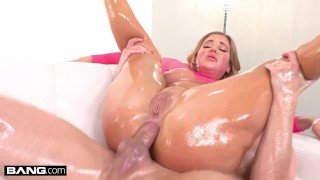 Screen Capture of Video Titled: BANG Surprise - Savannah Bond Gets Her Big Ass Fucked Anal