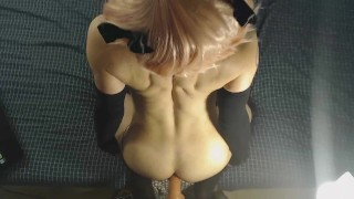 Astolfo POV - No Mask - Trap Cosplay/Dirty Talk/Drooling/Doggy/Cowgirl