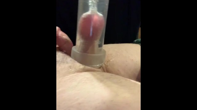 Suck my balls pull my dick Cbt: suck my balls in a cock pump