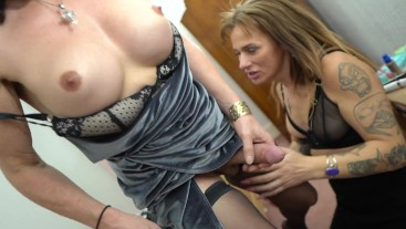 Mature ts tops younger stunning ts