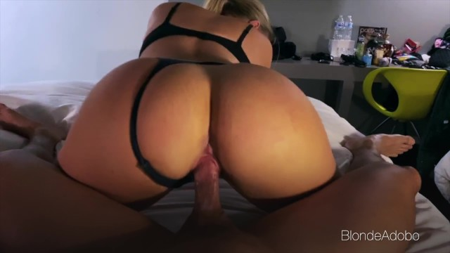 Hotel Hook Up With Blonde With Perfect Ass - Amateur Couple BlondeAdobo
