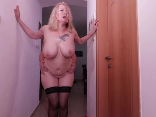 Stepmom wants to fuck again.Her fat ass & big boobs make me crazy.Best PAWG