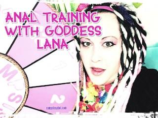 Anal Tranng wth Goddess Lana