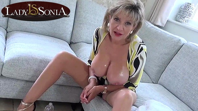 Mature lady glamerous Naughty joi from stunning mature lady sonia