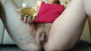 hairy pussy slaves: New Year's special divine wine!