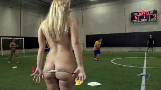 Hot Porn - College Rules - Carter Cruise Coedes Play A Friendly Game Of Strip Dodgeball