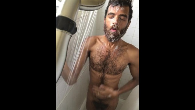 Showering gay - Naked shower cam and get ready session - rock mercury