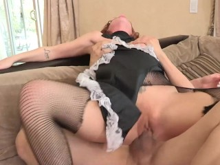 Bg Booty Redhead Teen Fucked Hard By Cheatng Husband and Get Facaled