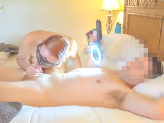 MLF WAKES UP HUSBAND FOR MO SEX BJ CO MSSONARY CUMSHOT