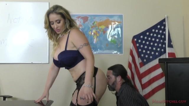 Milf pussy jack Bully teacher - femdom - miss eva notty