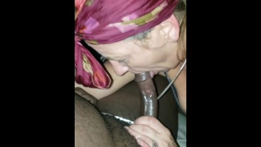 Fucking my best friend's mom again!!!  Sloppy ass head / cumshot