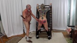 Pantrixxx Bondage Flogging Paddling Fucking Ass Fucking