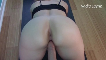 Arching Up Onto That Cock