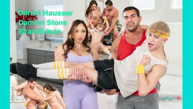 Stone peterman porn Woke up and worked up whynotbi - daniel hausser, brandi mae, damien stone
