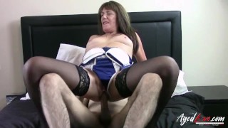 AgedLovE British Mature Fucked Really Hardcore