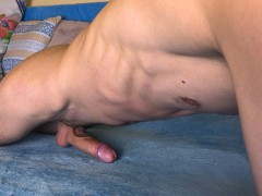 Guy Humping Bed Has Intense Orgasm While Moaning And Dirty Talking - 4K