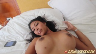 ASIANSEXDIARY Big Tit Asian Pounded From Behind