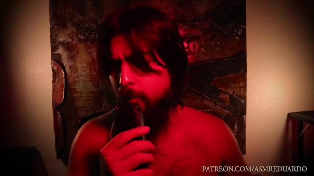 Hairy man in underwear - Asmr male dirty talk ft. handsome hairy long haired man with deep voice